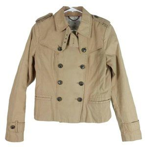Banana Republic Heritage Collection Cropped Trench